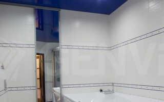 Какой подвесной потолок можно применить при ремонте в ванной комнате?