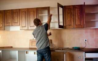 Как выполняется ремонт на кухне стен
