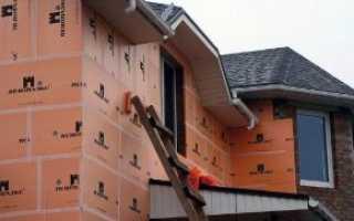 Технология утепление стен пеноплексом: делаем правильно
