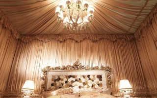 Обивка стен тканью: интересный вариант декора