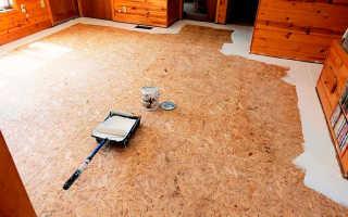 Как можно правильно покрасить потолок, чтобы фактура ОСП осталась видна?