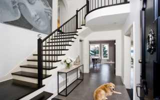 Лестница в частном доме как главный элемент интерьера