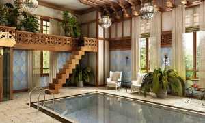 Отделка бассейна мозаикой: дань моде или стиль