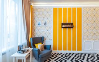 Комбинированные обои для дизайна комнат