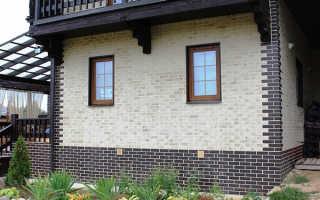 Отделка фасада панелями клинкерными: особенности монтажа