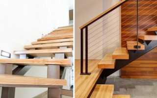 Отделка деревом металлической лестницы: делаем правильно