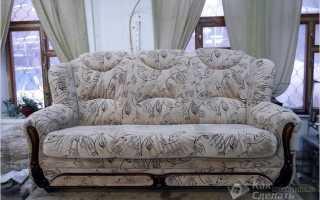Как обить диван своими руками – перетяжка дивана