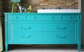 Покраска мебели: рассмотрим варианты