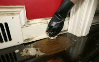 Как и чем отмыть стены после пожара