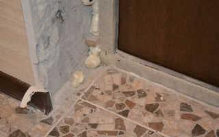 Внутренняя отделка входной двери: виды материала и их использование