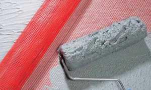 Как крепить штукатурную сетку к стене