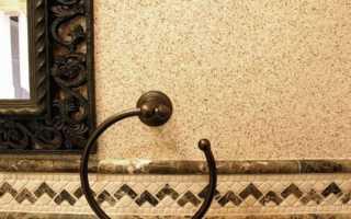 Штукатурка фасадная с мраморной крошкой: виды, особенности, способы нанесения