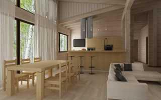 Внутренняя отделка дома из бруса: идеи оформления