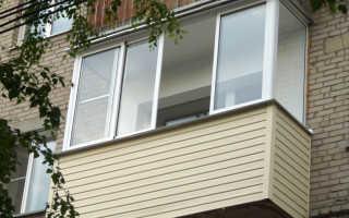 Облицовка балкона внешняя и внутренняя
