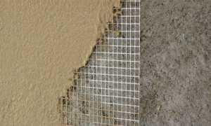 Стеклотканевая штукатурная сетка – виды и область применения