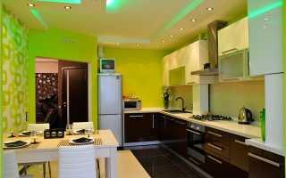 Цвет обоев для кухни и критерии идеального дизайна