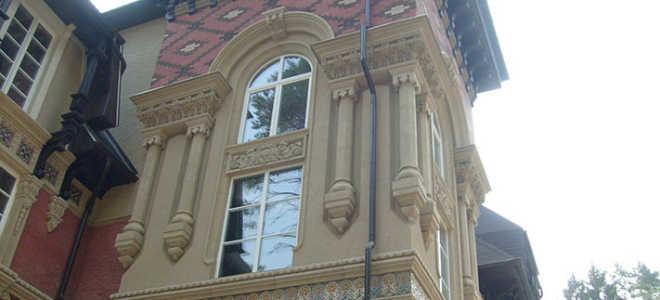 Отделка коттеджей: интерьер и фасад
