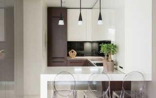 Кухонная ниша: 50 фото интерьеров, современные и функциональные дизайнерские идеи