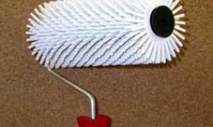 Нанесение декоративной штукатурки валиком: видео-инструкция