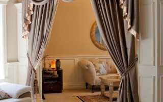 Ламбрекены в спальню – фото самых модных новинок в интерьере спальни