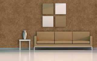 Штукатурка декоративная мелкозернистая: лучшее решение для интерьера
