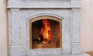 Облицовка камина мрамором: варианты оформления конструкции
