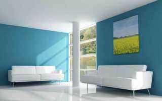 Как выбрать цвет краски для стен