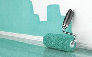 Краска для стен в ванной: как выбрать и как нанести