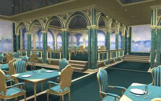 Отделка стен кафе и ресторанов: выбираем вариант