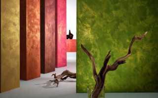 Покраска стен фактурной краской своими руками