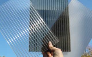 Какой толщины выбрать поликарбонат для теплицы?