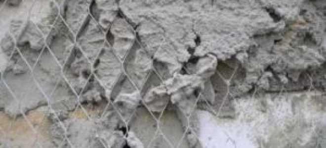 Штукатурная сетка стальная – виды и применение