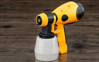 Пульверизатор для краски: особенности использования