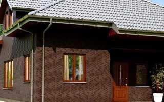 Облицовка дома клинкерными панелями согласно технологии