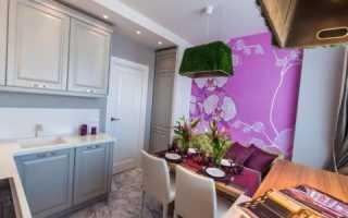 Декор стен на маленькой кухне своими руками