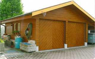 Деревянный гараж: как построить шаг за шагом с вашими руками