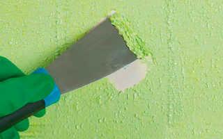 Как удалить старую краску с ворот без проблем