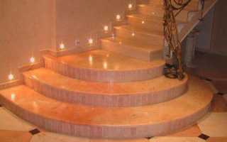 Облицовка бетонной лестницы: варианты оформления