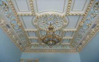Декоративная отделка потолков или полет фантазии