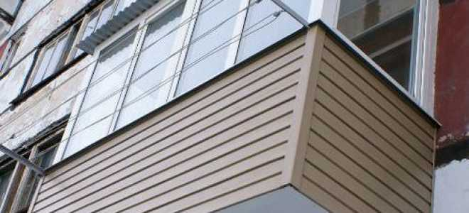 Способы оградить балкон сайдингом снаружи