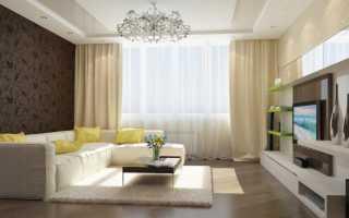 Дизайн и отделка стен в гостиной