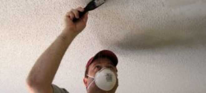 Как выполняется шпаклевка под покраску потолка