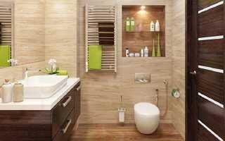 Отделка санузла: варианты отделки стен