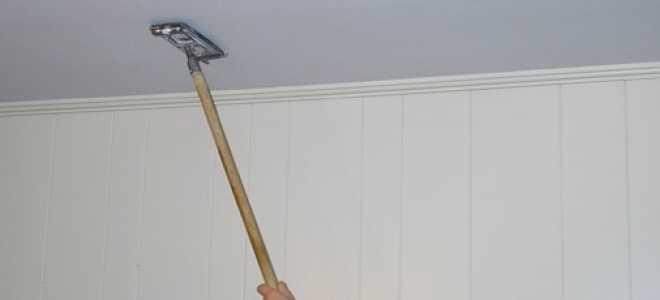 Как шпаклевать потолок из гипсокартона и не допустить при этом ошибок