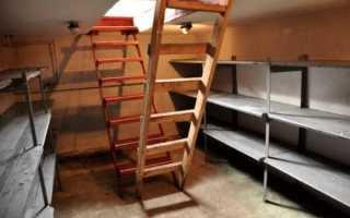 Как построить подвал (цоколь) в гараже своими руками пошагово с фото и видео
