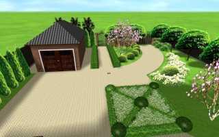 Планировка участка земли 15 соток: лучшие проекты и варианты дизайна (104 фото)