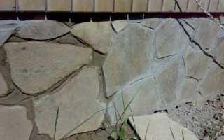Облицовка бетонного цоколя: варианты и технологии