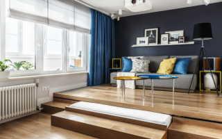 Кровать на подиуме: 45 стильных фото и дизайнерских идей