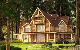 Рассмотрим, как покрасить деревянный дом снаружи