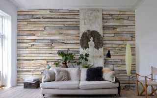 Отделка стен дома из дерева